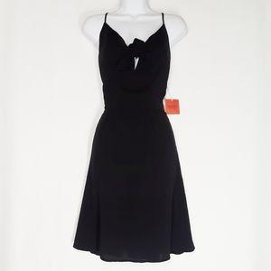 Mossimo Supply Co Bust Tie Ebony Dress Large NWT